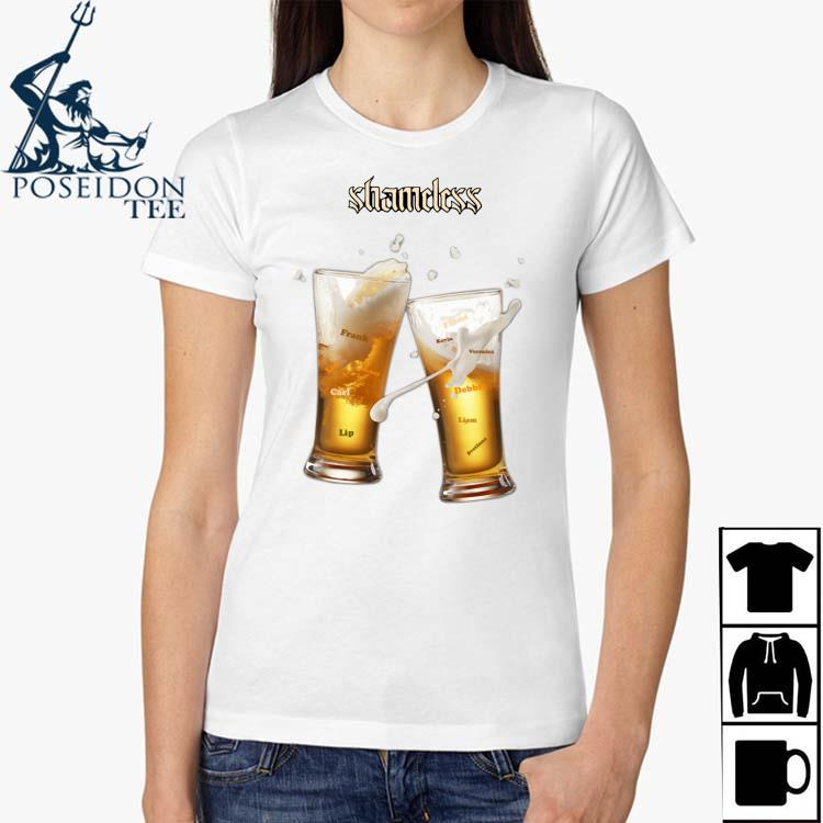 Shameless Beer Shirt Ladies Shirt