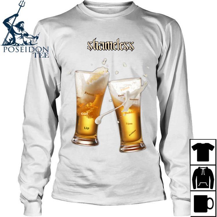 Shameless Beer Shirt Long Sleeved
