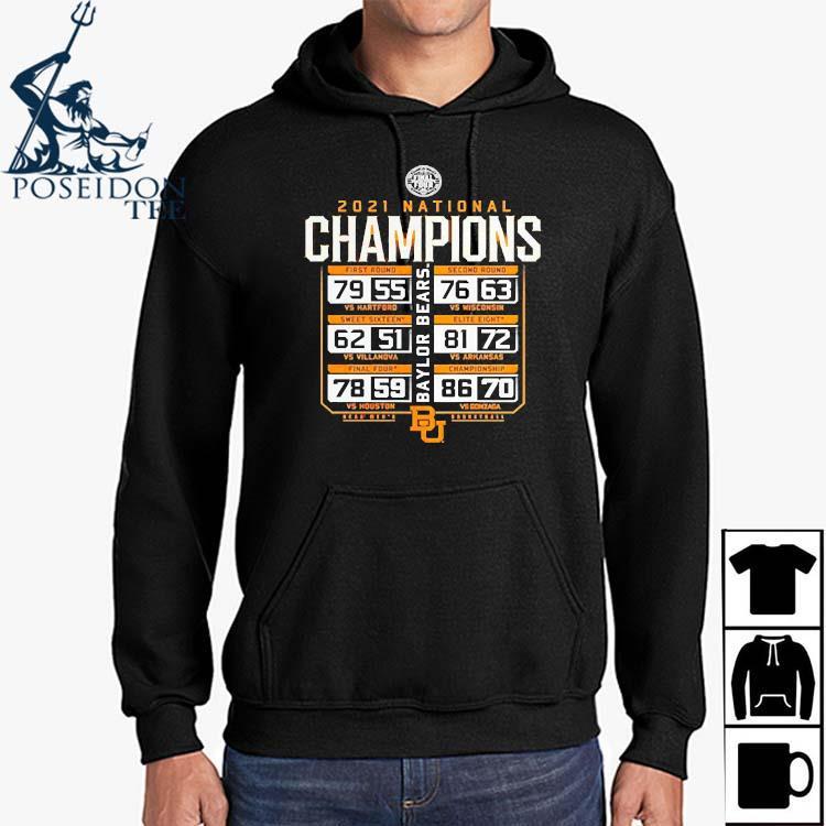 2021 Baylor Bears National Champions Basketball Shirt Hoodie