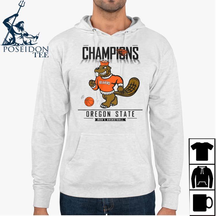2021 Pac 12 Tournament Champions Oregon State Men's Basketball Shirt Hoodie