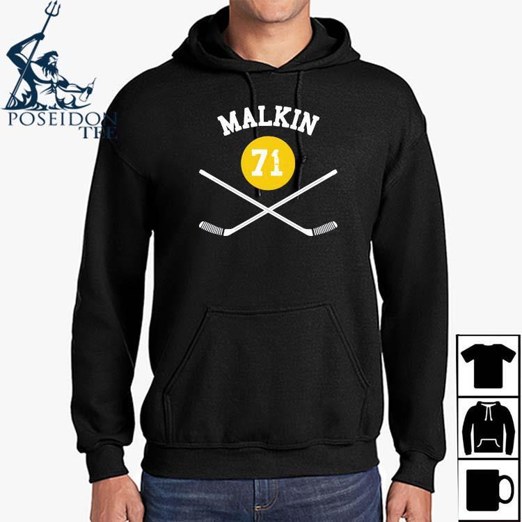 71 Evgeni Malkin Pittsburgh Sticks Shirt Hoodie