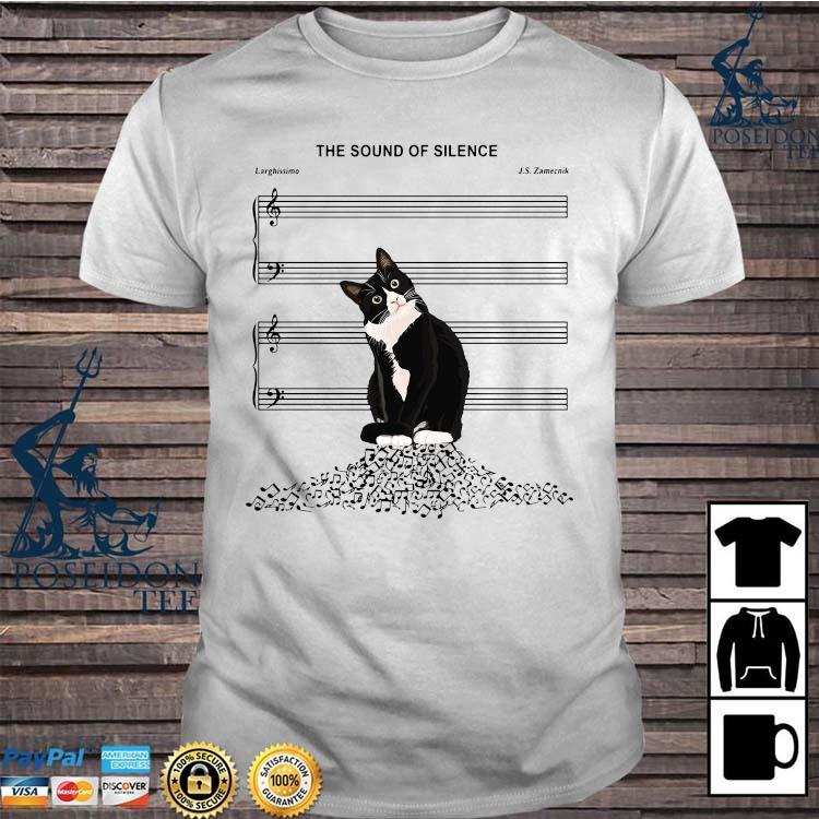 Black Cat The Sound Of Silence Shirt