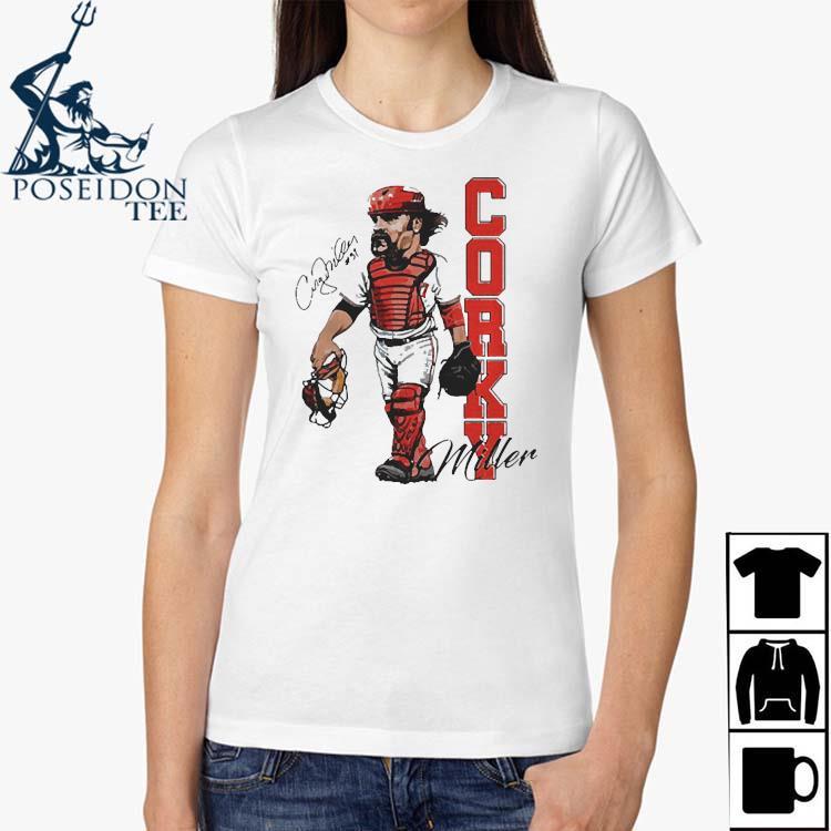 Corky Miller Tee Shirt Ladies Shirt