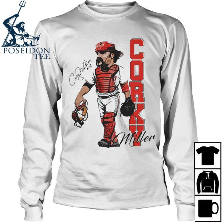 Corky Miller Tee Shirt Long Sleeved
