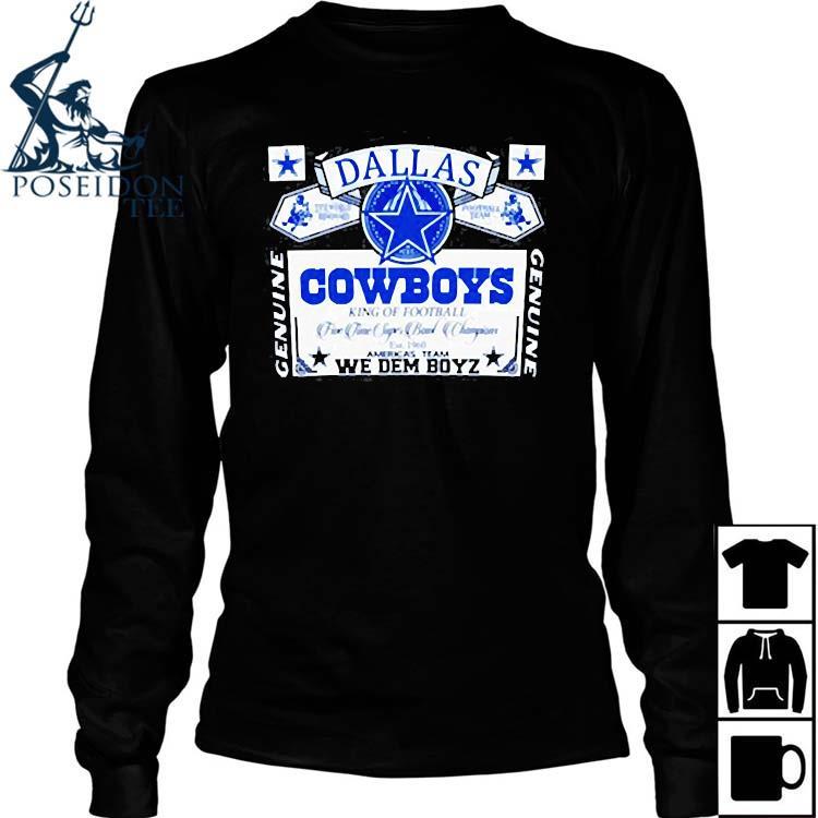 Dallas Cowboys We Dem Boyz Shirt Long Sleeved