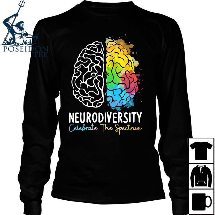Neurodiversity Celebrate The Spectrum Shirt Long Sleeved