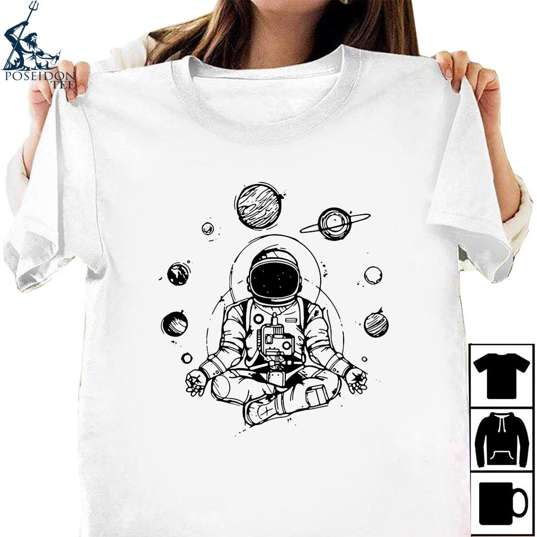 Astronaut Yoga Spiritual Space Shirt