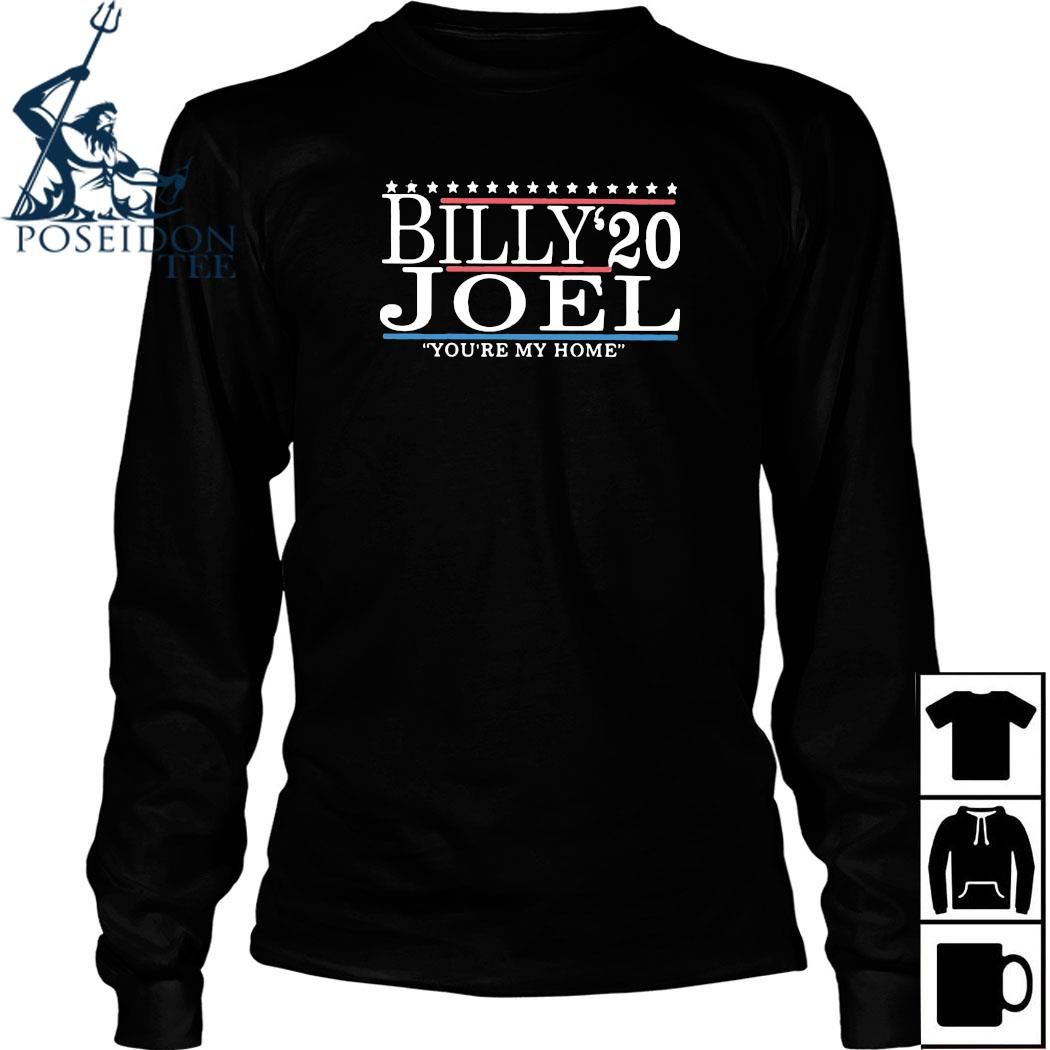 Billy Joel 2020 You're My Home Shirt Long Sleeved