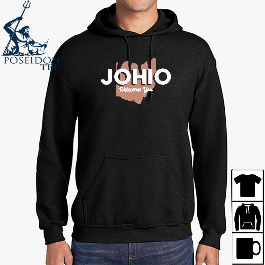 Joe Burrow Johio Wellcomes You Shirt Hoodie