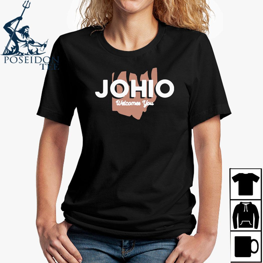 Joe Burrow Johio Wellcomes You Shirt Ladies Shirt