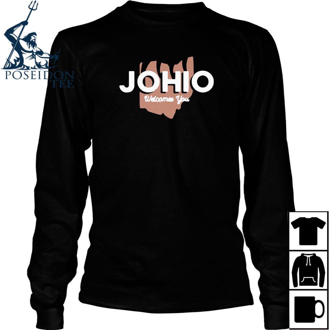 Joe Burrow Johio Wellcomes You Shirt Long Sleeved