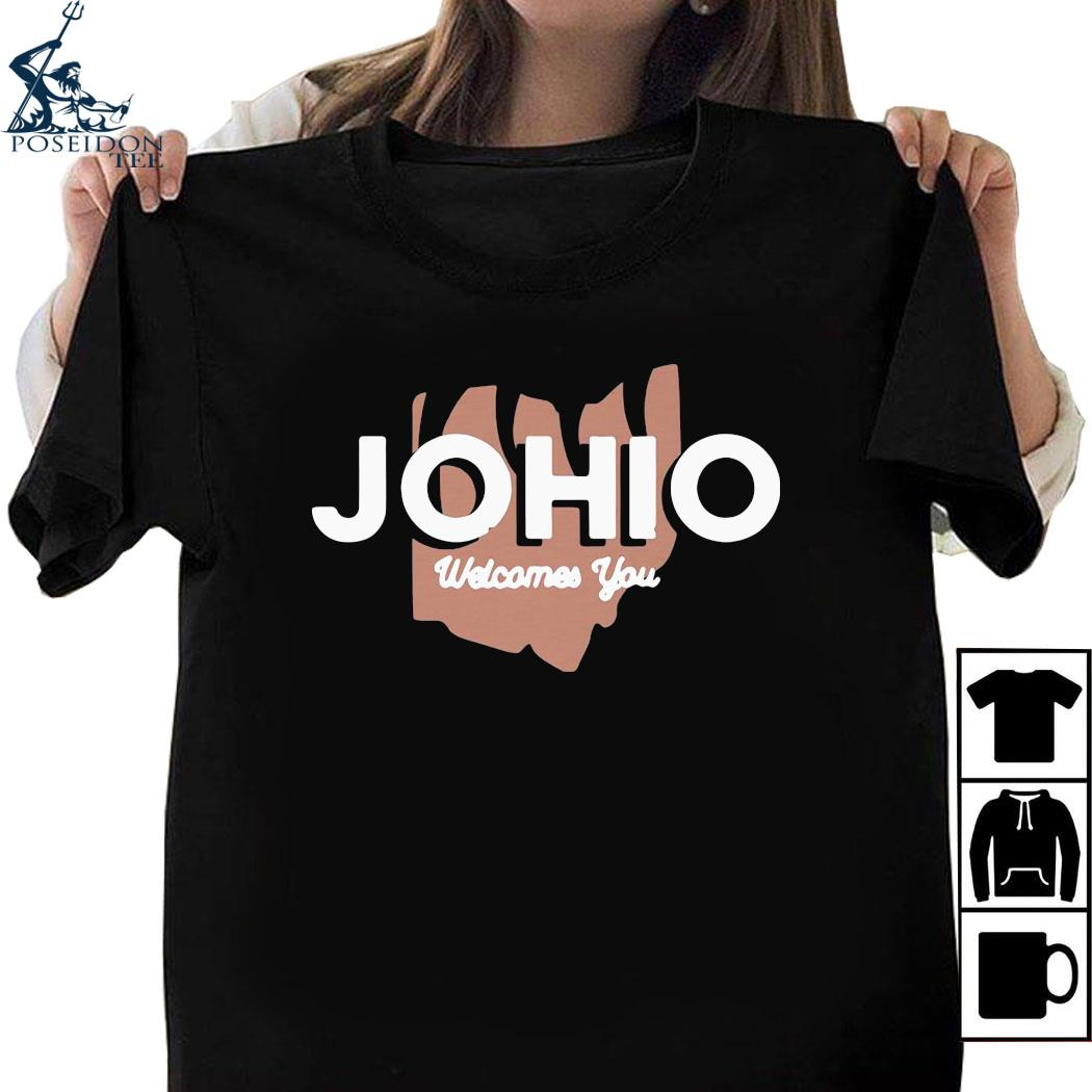 Joe Burrow Johio Wellcomes You Shirt