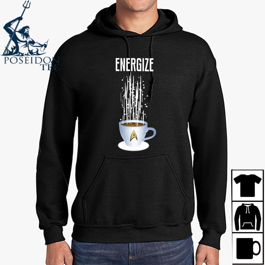 Star Trek Coffee Energize Shirt Hoodie