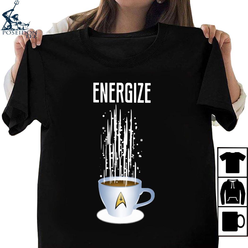 Star Trek Coffee Energize Shirt