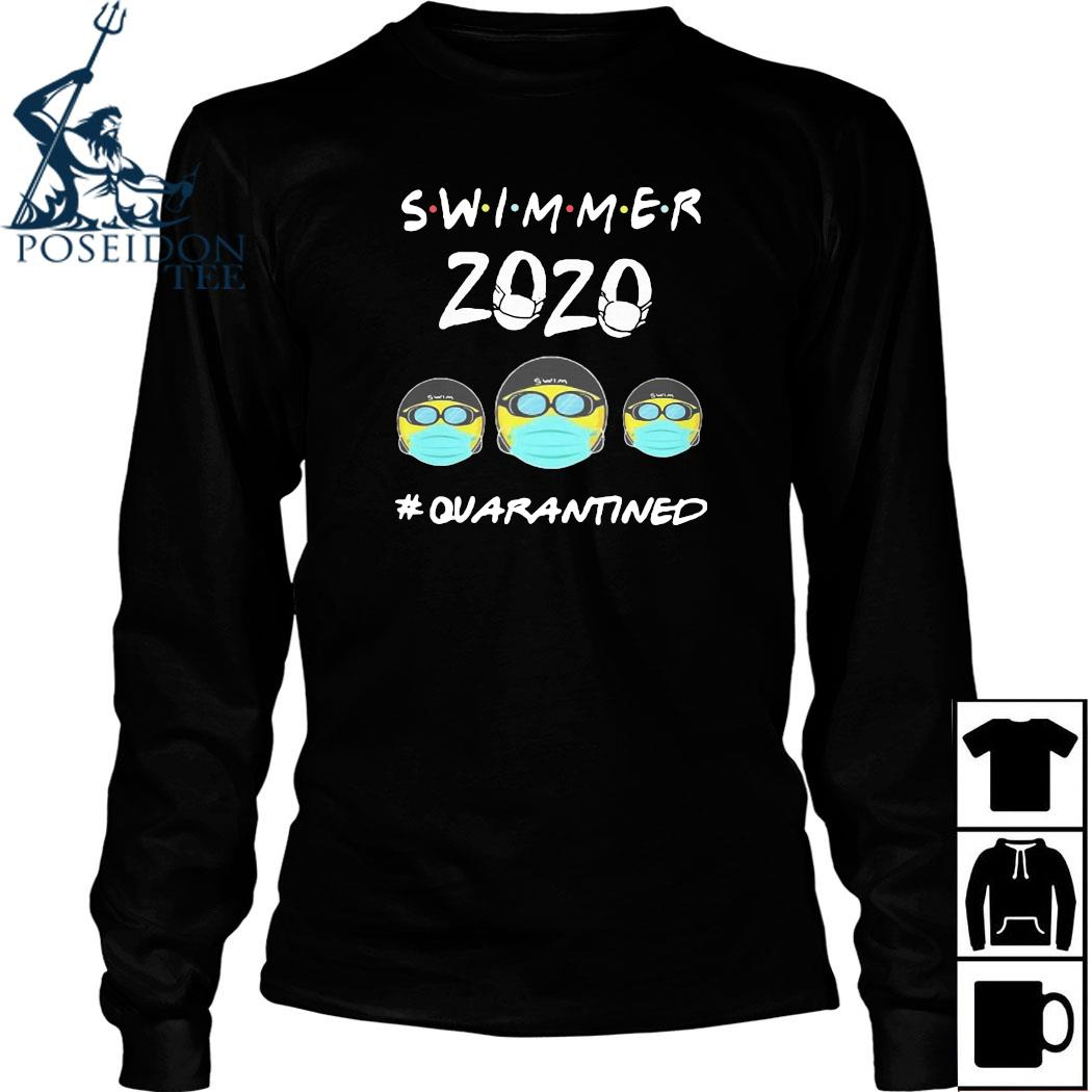 Swimmers 2020 #quarantined Shirt Long Sleeved
