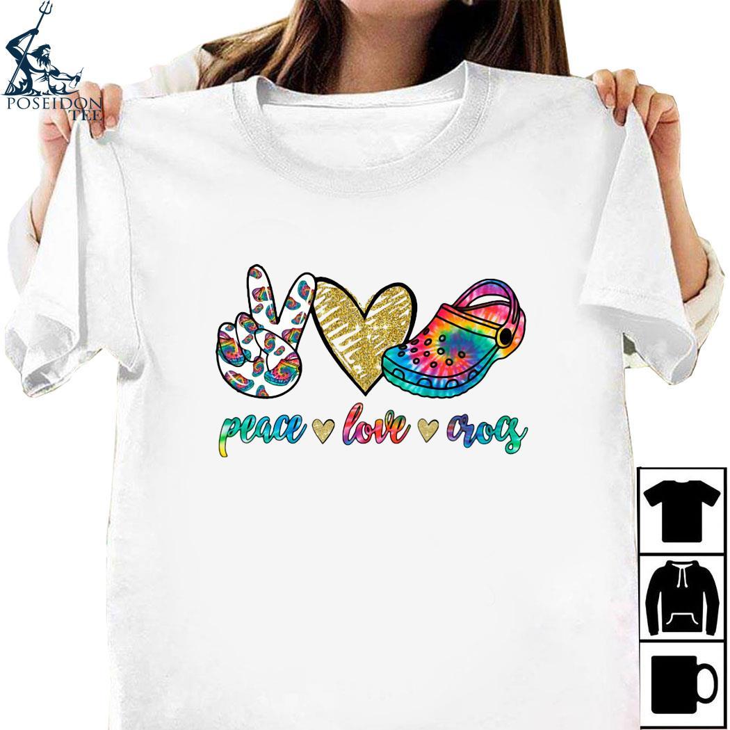 Peace Love Crocs Shirt