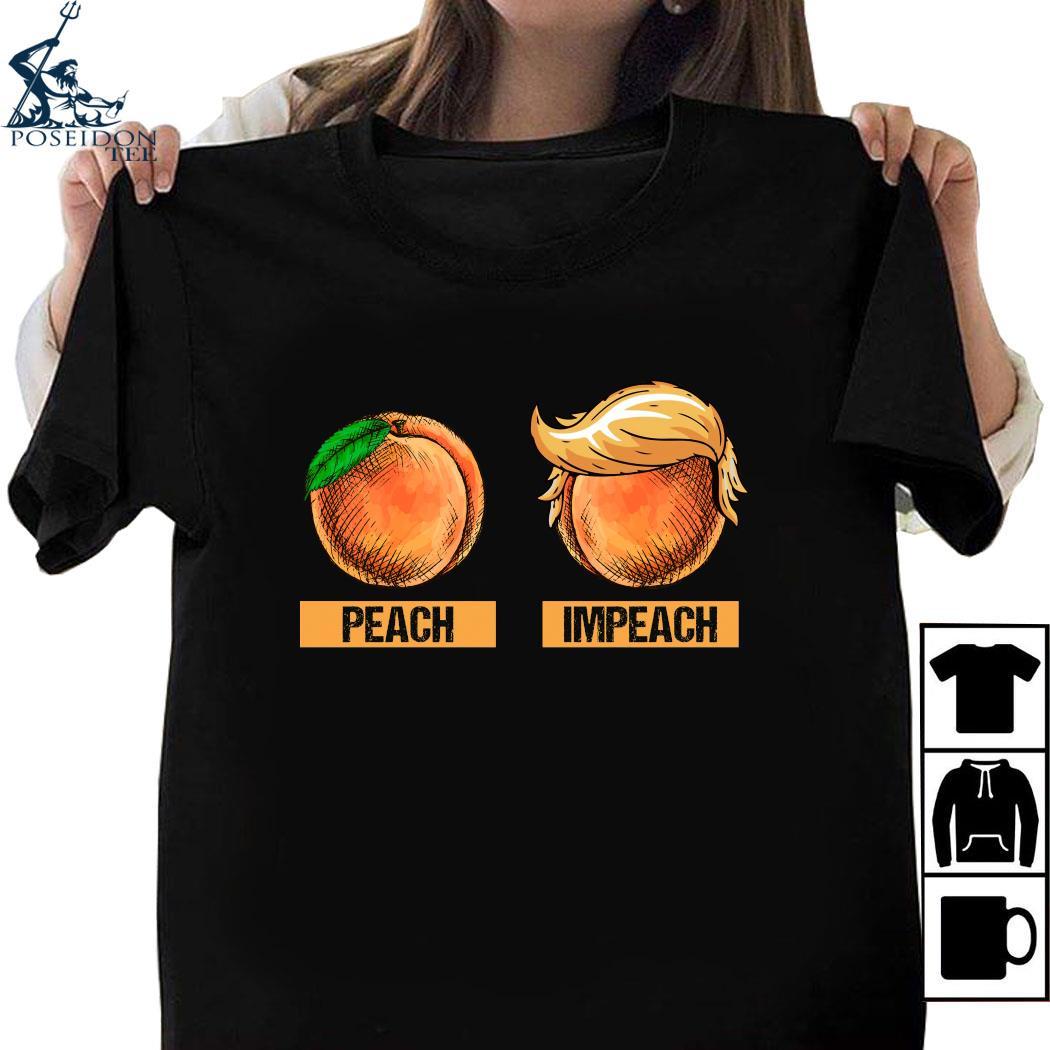 Peach Impeach Trump Shirt