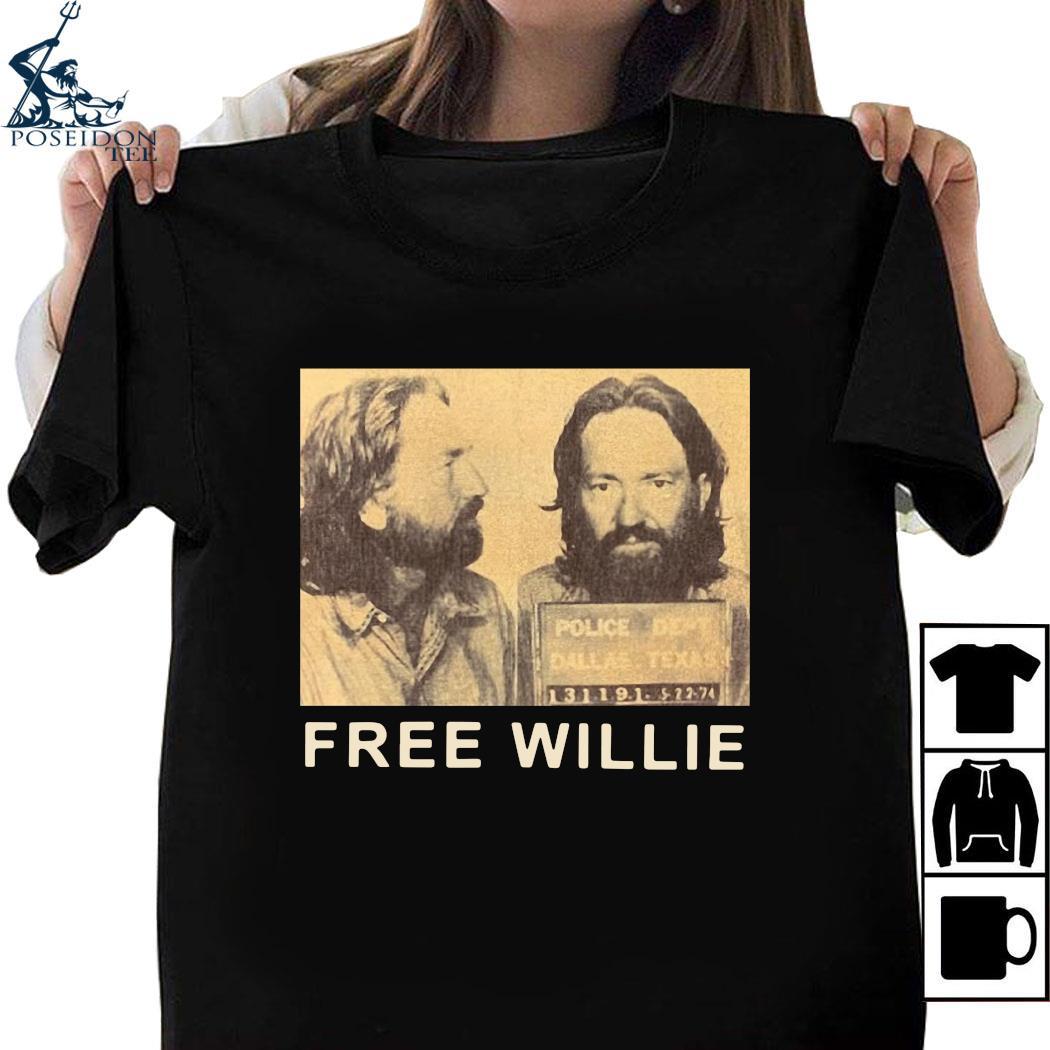 Willie Nelson Free Willie Shirt