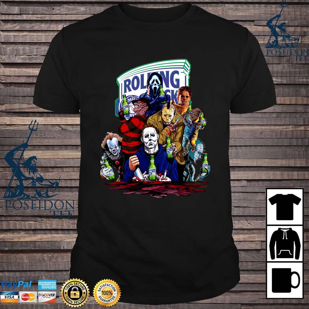 Horror Character Rolling Rock Shirt