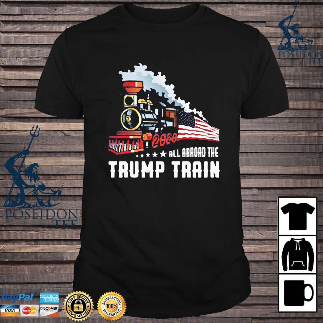 2020 All Aboard The Trump Train Shirt