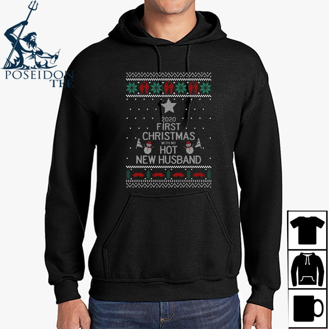 2020 First Christmas With My Hot New Husband Ugly Shirt Hoodie