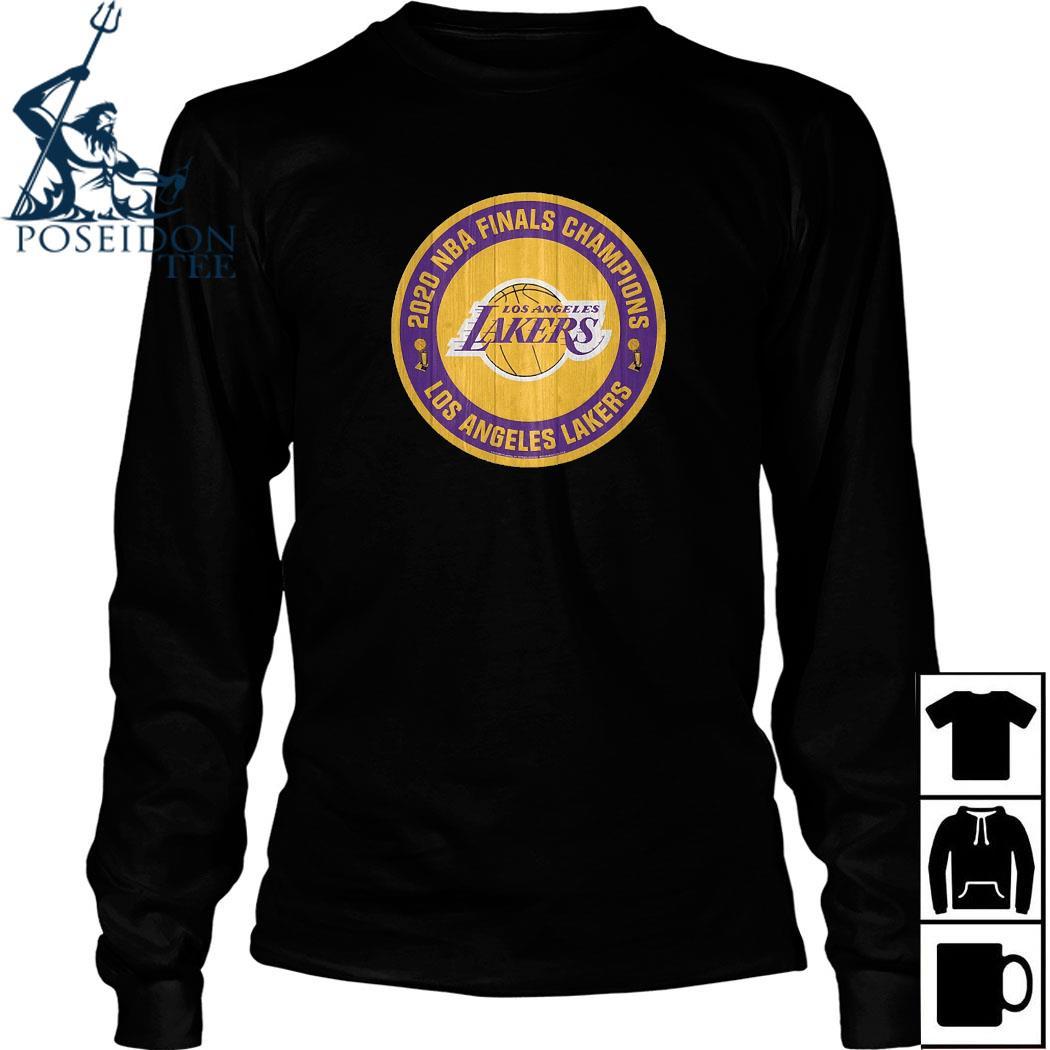 2020 NBA Finals Champions Los Angeles Lakers Shirt Long Sleeved