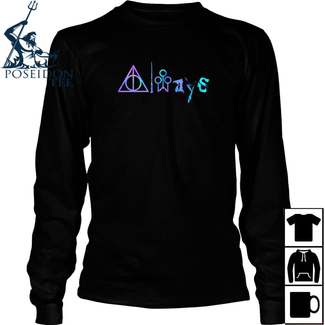 Always Hogwarts Harry Potter Shirt Long Sleeved