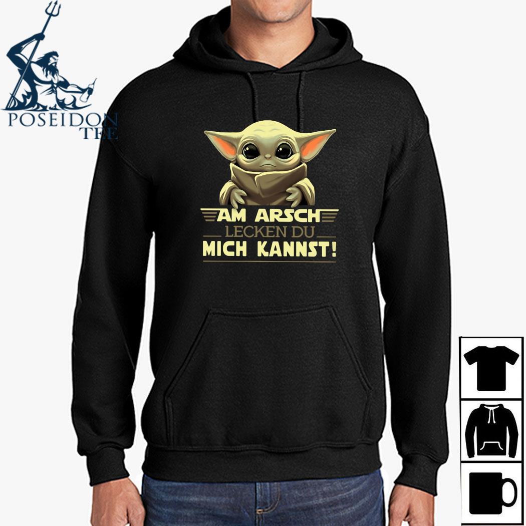 Baby Yoda Am Arsch Lecken Du Mich Kannst Shirt Hoodie