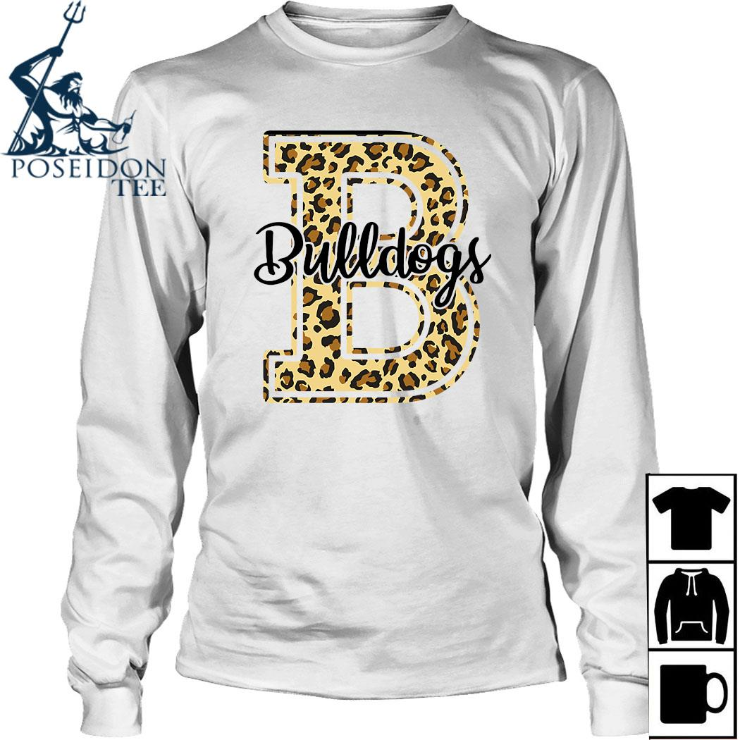 Bulldogs Leopard Shirt Long Sleeved