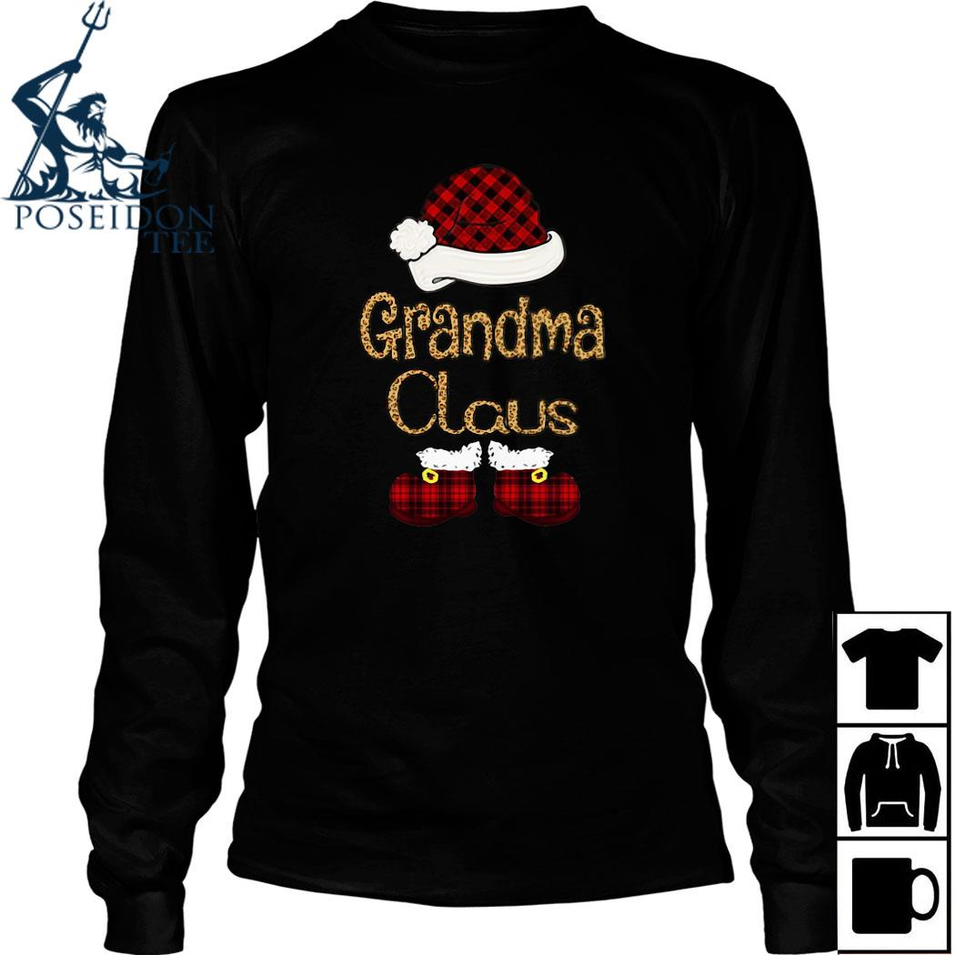 Grandma Claus Christmas Shirt Long Sleeved
