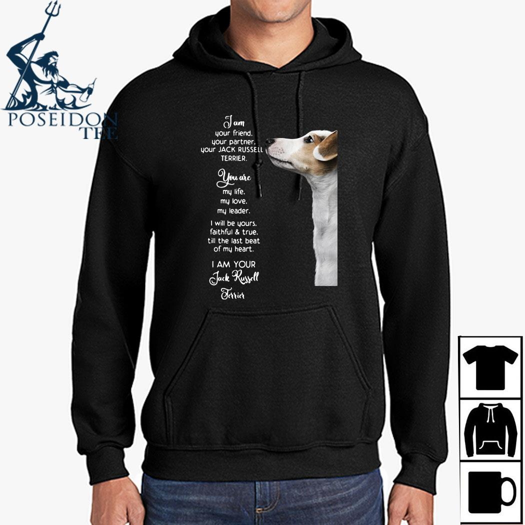 Jam Your Friend Your Partner Your Jack Russell Terrier Shirt Hoodie