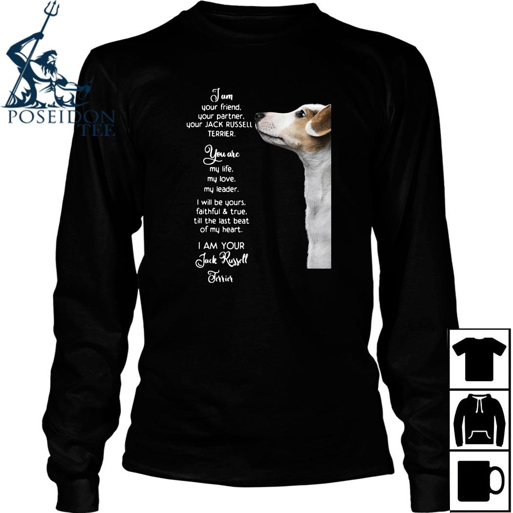 Jam Your Friend Your Partner Your Jack Russell Terrier Shirt Long Sleeved