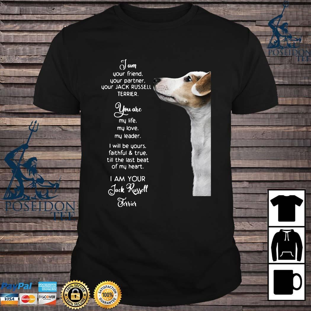 Jam Your Friend Your Partner Your Jack Russell Terrier Shirt