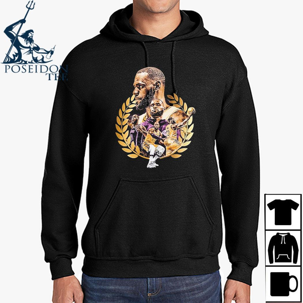Lebron James Artwork Shirt Hoodie
