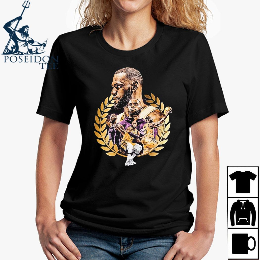 Lebron James Artwork Shirt Ladies Shirt