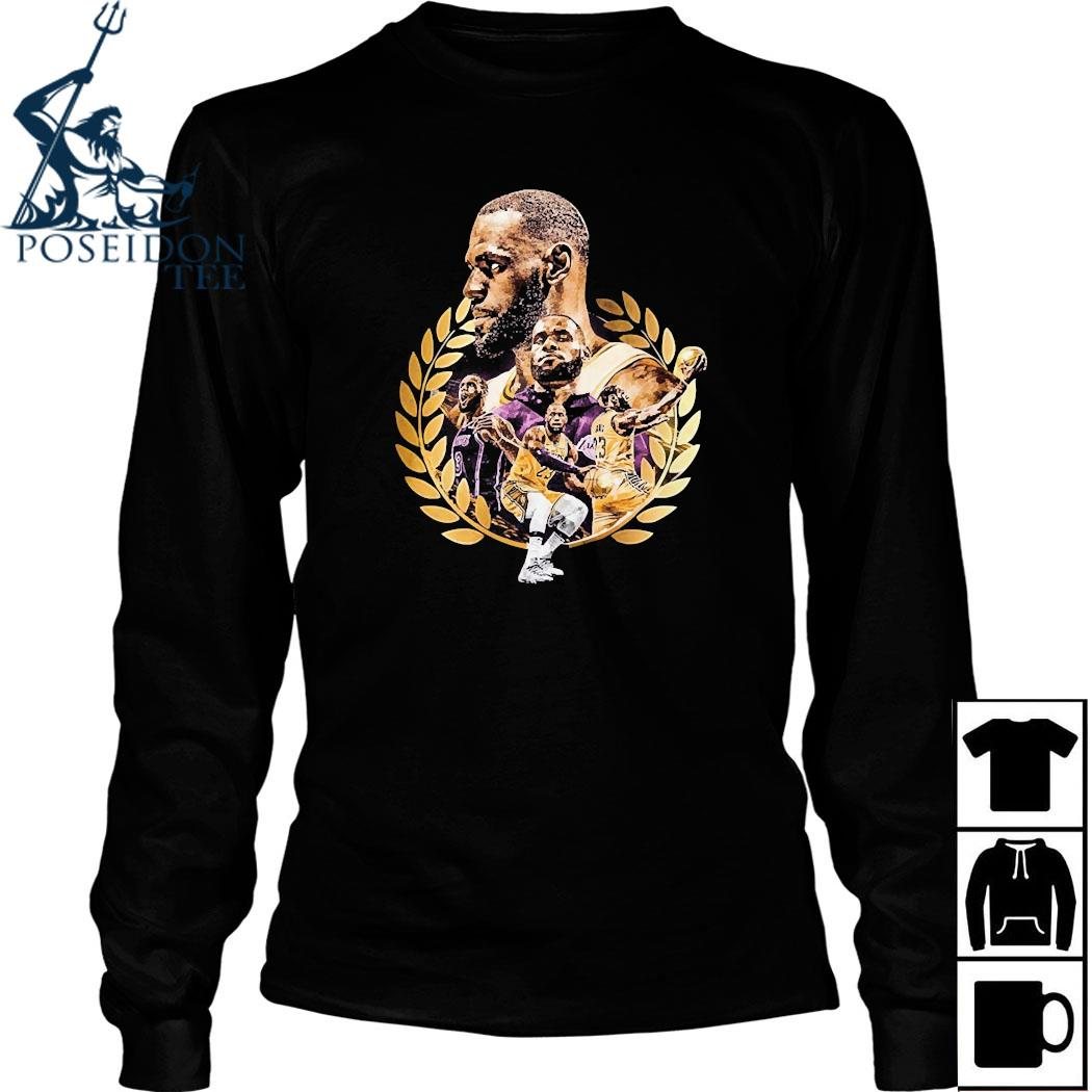 Lebron James Artwork Shirt Long Sleeved