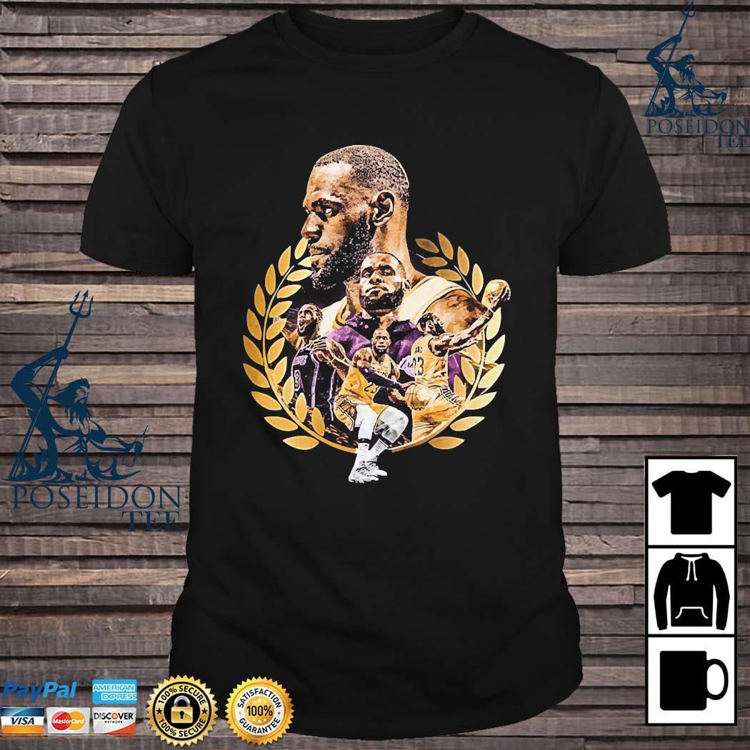 Lebron James Artwork Shirt