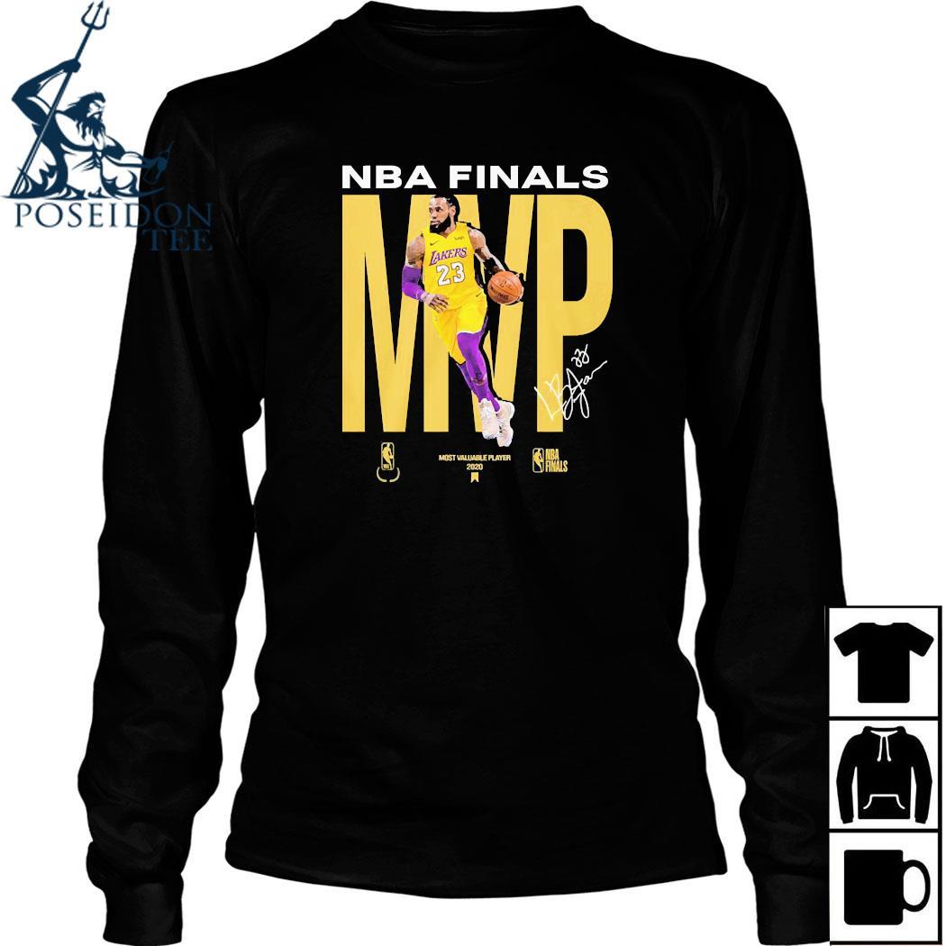 Lebron James NBA Finals MVP Signature Shirt Long Sleeved