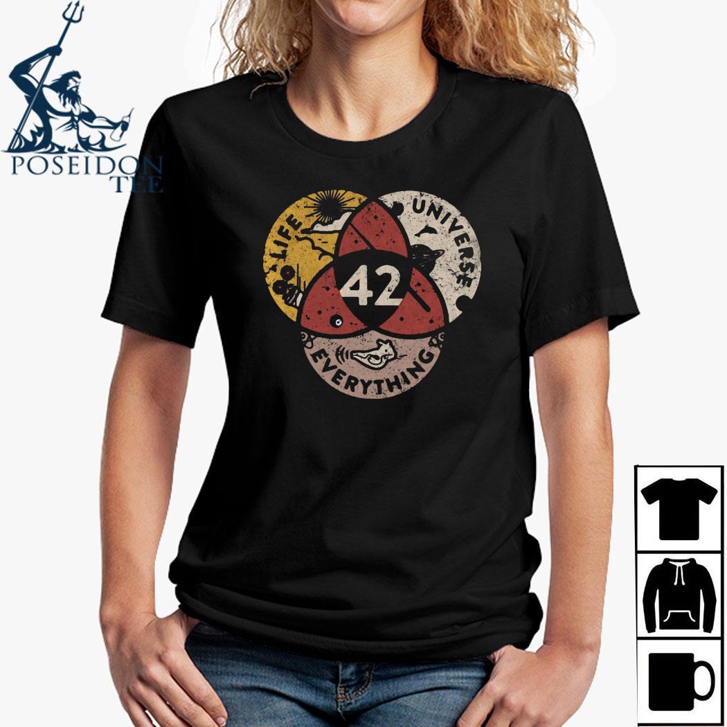 Life Universe Everything 42 Shirt Ladies Shirt