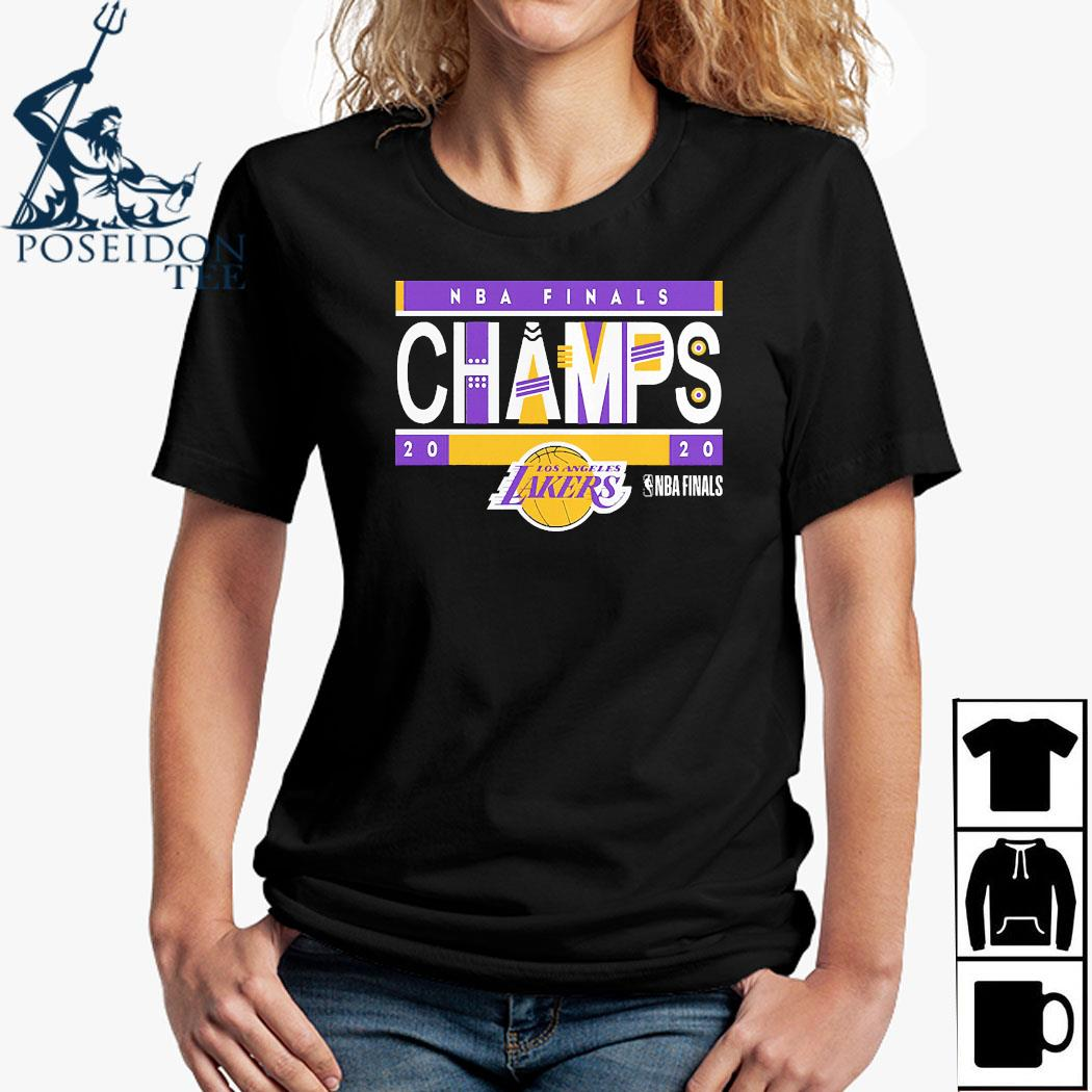 Los Angeles Lakers 2020 NBA Finals Champions Team LA Lakers Shirt Ladies Shirt