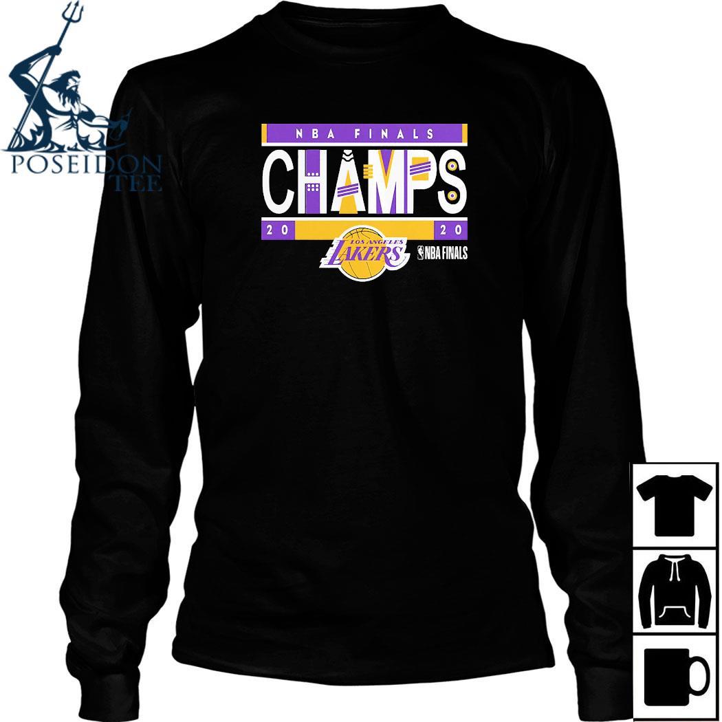 Los Angeles Lakers 2020 NBA Finals Champions Team LA Lakers Shirt Long Sleeved