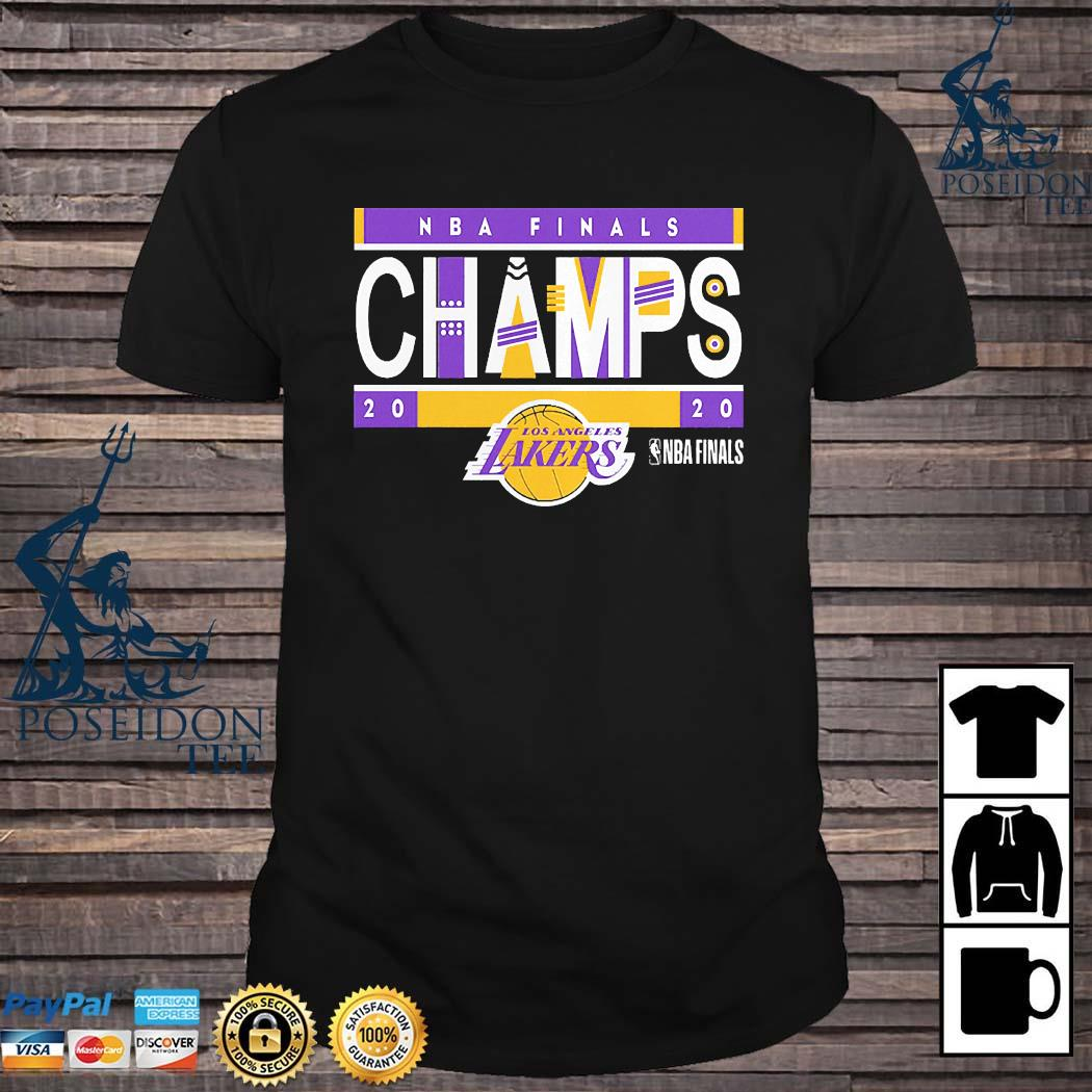 Los Angeles Lakers 2020 NBA Finals Champions Team LA Lakers Shirt