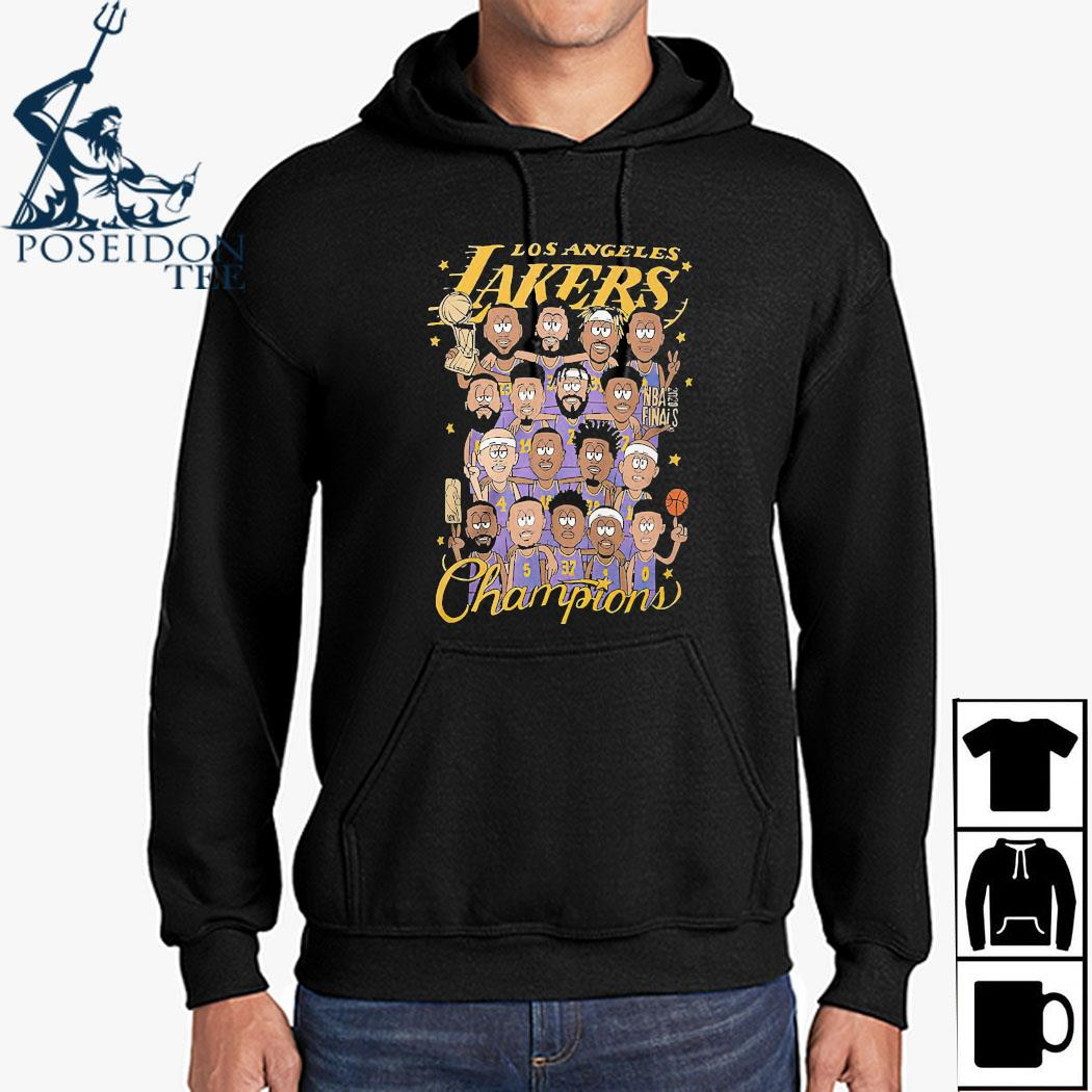 Los Angeles Lakers Champions Shirt Hoodie