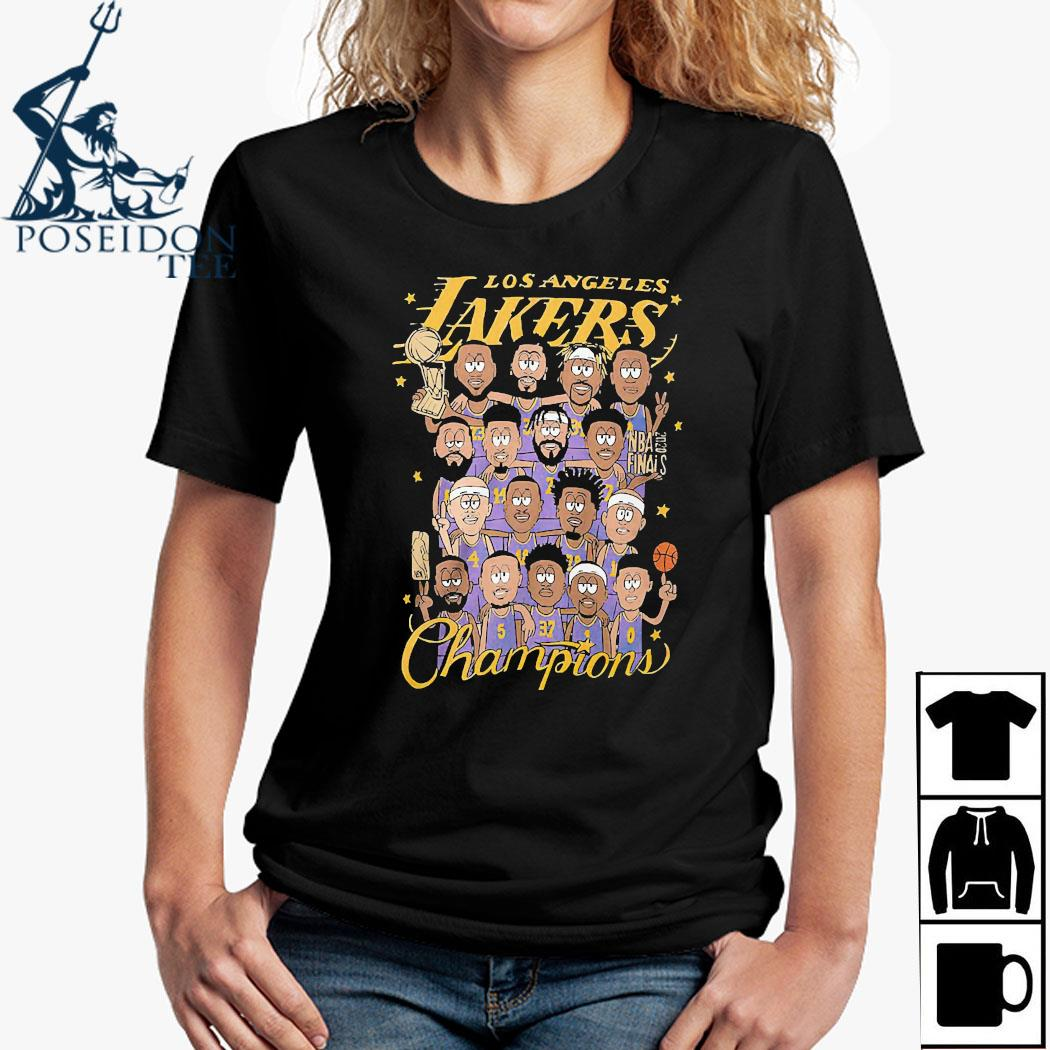 Los Angeles Lakers Champions Shirt Ladies Shirt