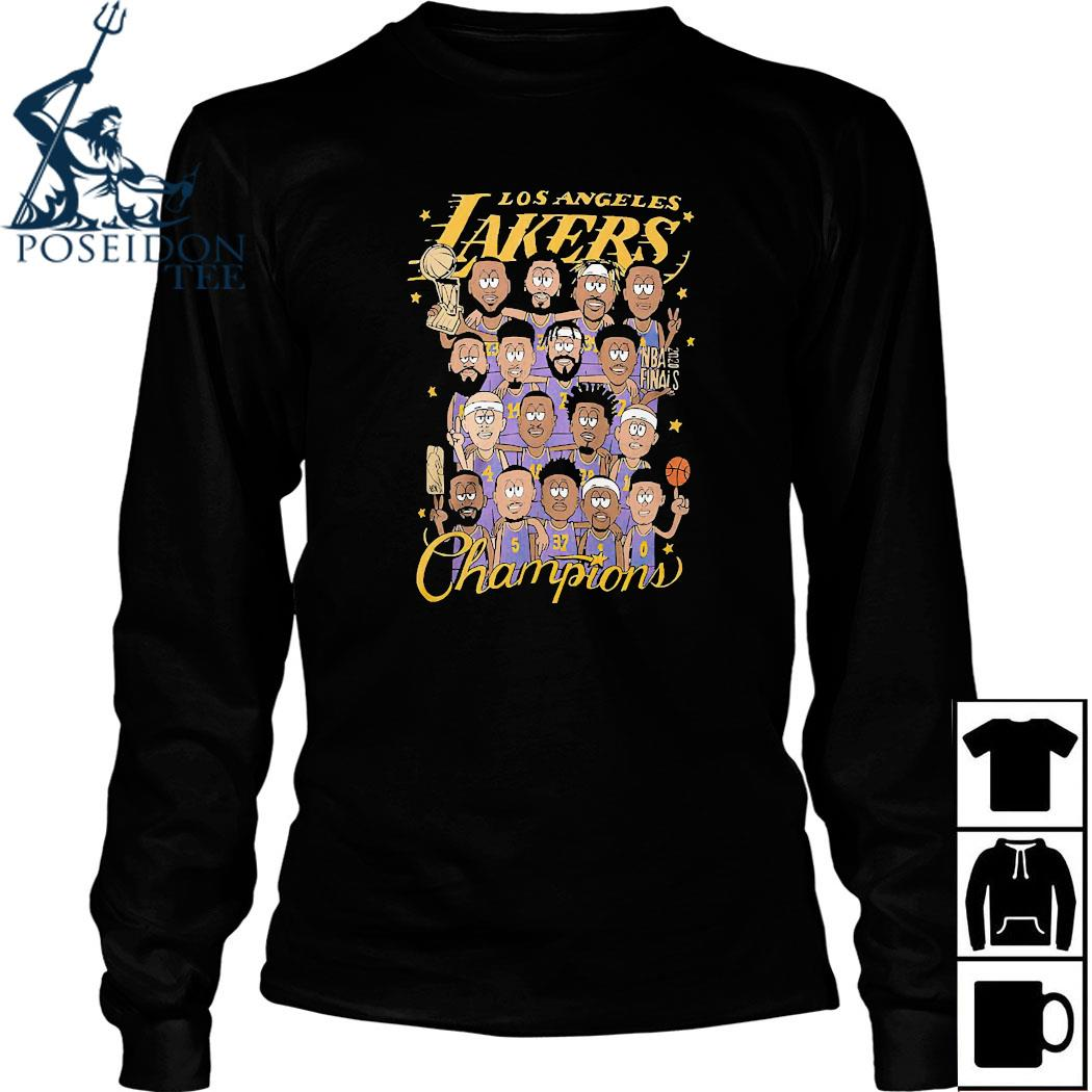 Los Angeles Lakers Champions Shirt Long Sleeved