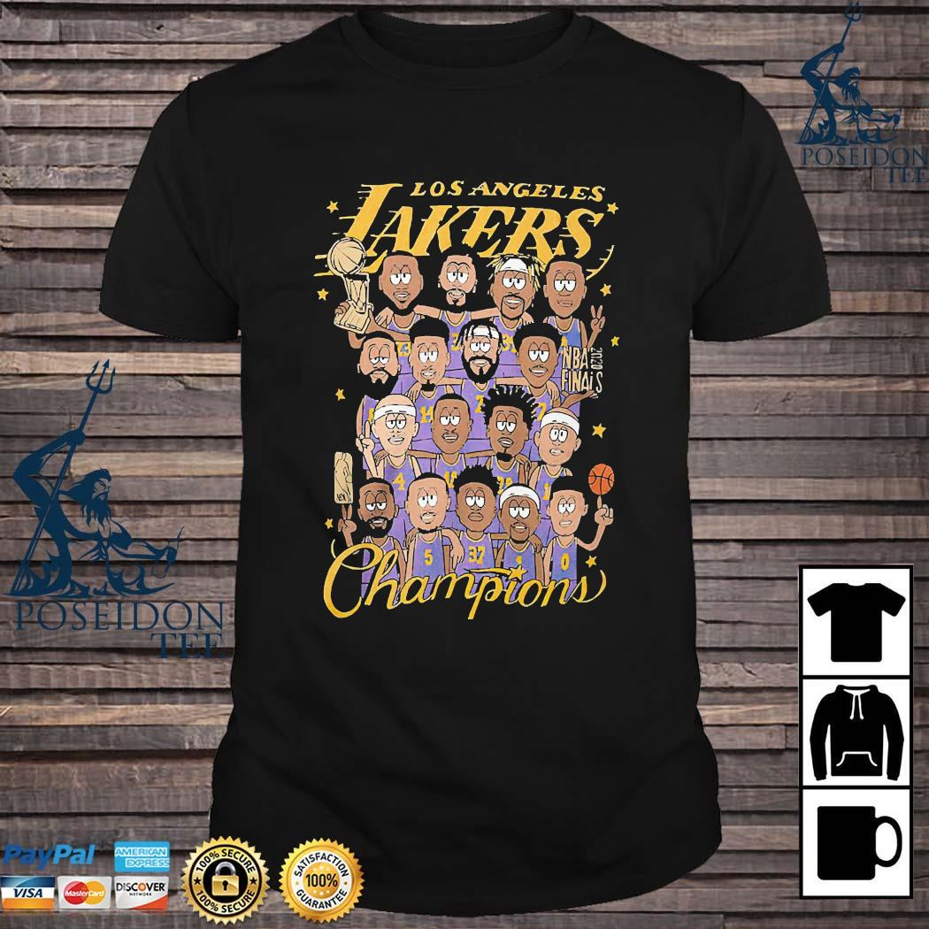 Los Angeles Lakers Champions Shirt
