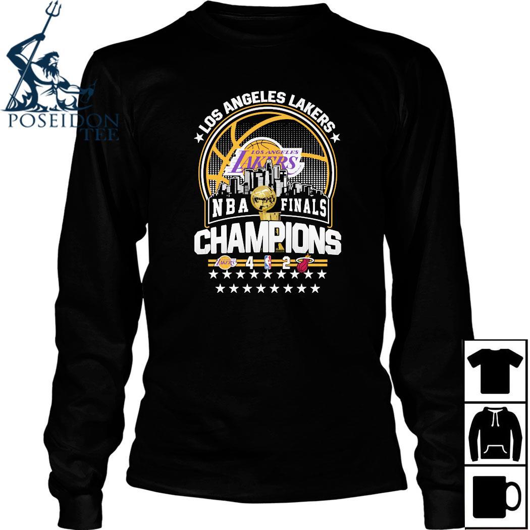 Los Angeles Lakers NBA Finals Champions Shirt Long Sleeved