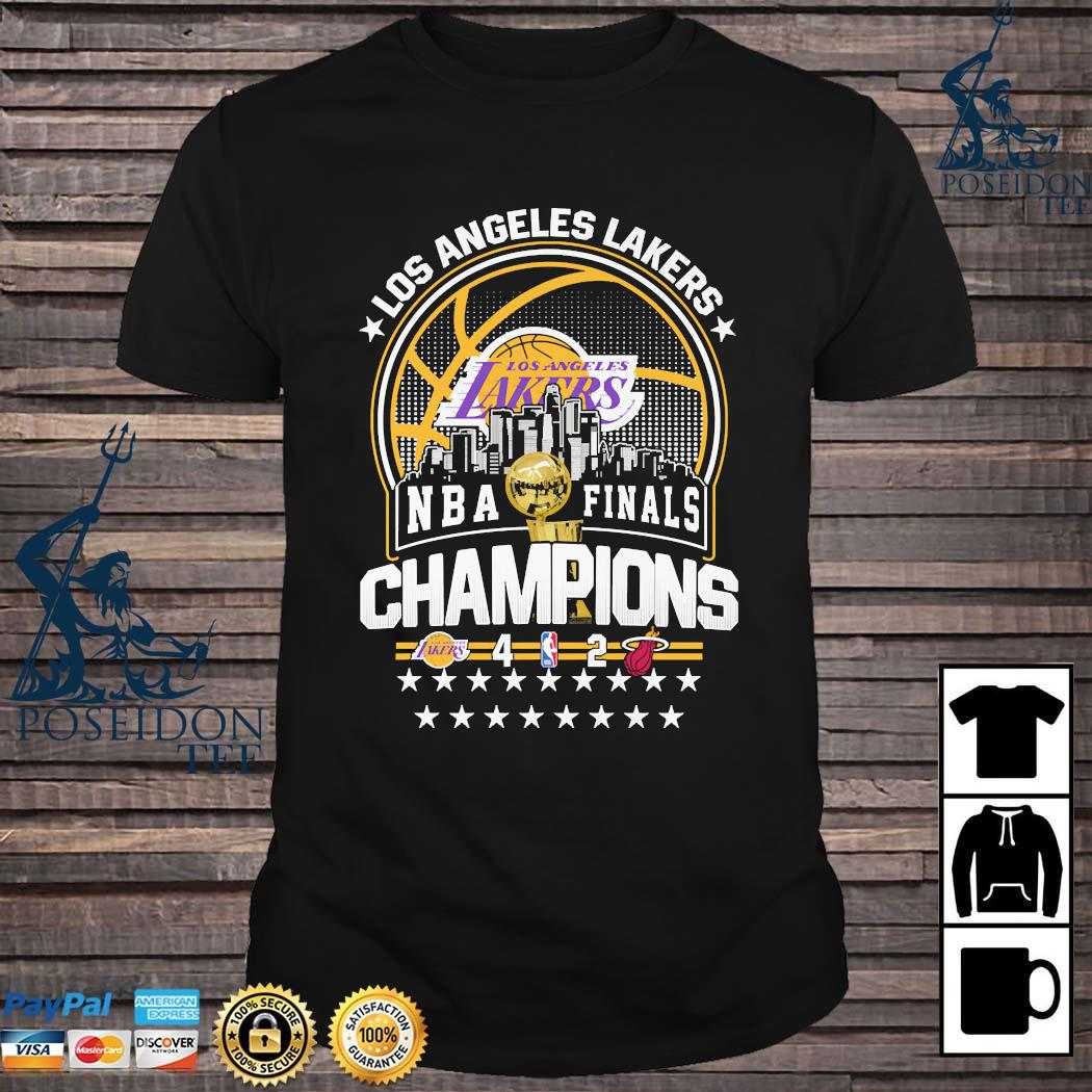 Los Angeles Lakers NBA Finals Champions Shirt