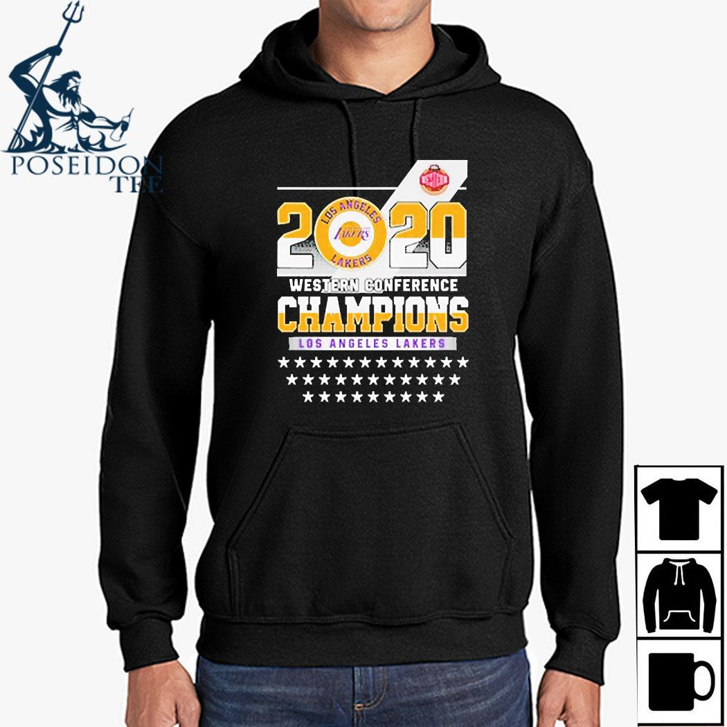 Los Angeles Lakers Western Conference Champions 2020 Shirt Hoodie
