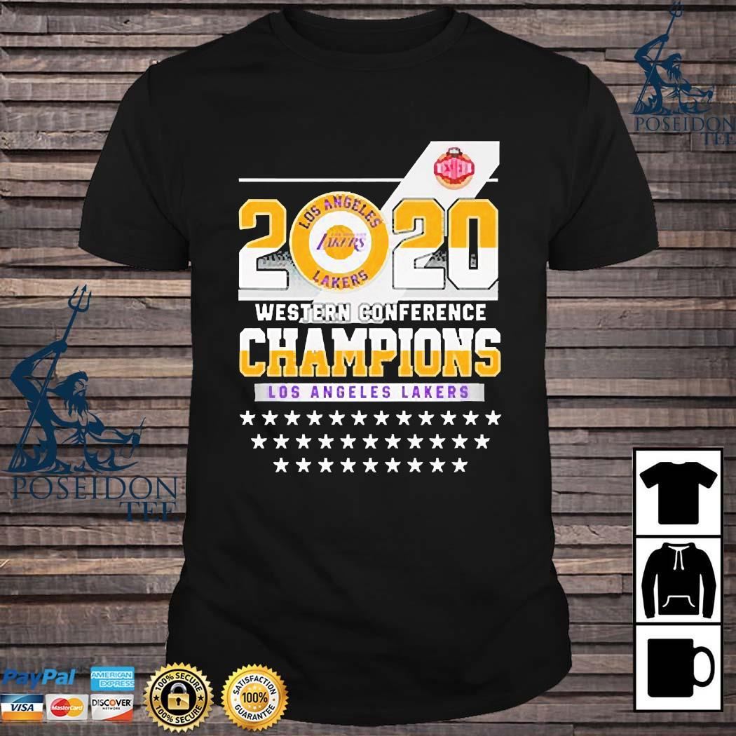Los Angeles Lakers Western Conference Champions 2020 Shirt